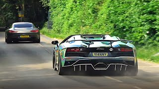 Supercars Leaving a Car Show - July 2019!