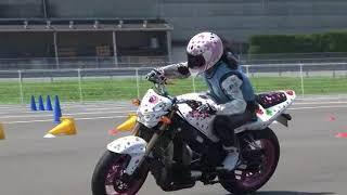 2018 6 24 MSGC Moto Gymkhana Kimura 選手 GSX-R1000