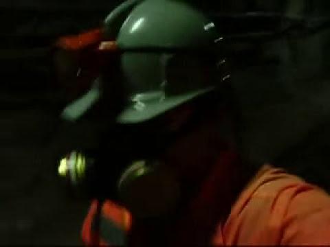 Alejandro Mancisidor Vargas - Al interior de la mina El Teniente