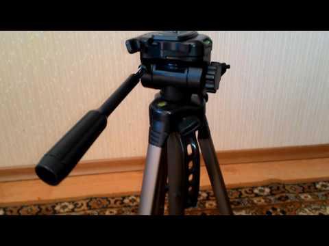 Штатив DEXP WT-3550. Недорогой штатив для видеосъемки
