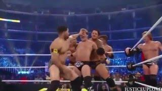 Wwe Nexus Vs John Cena Team John Cena's...