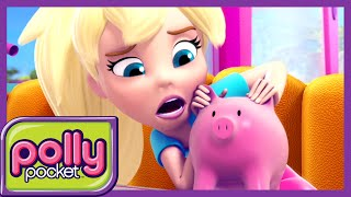 Polly Pocket | This Little Piggy Bank | Videos For Kids | Cartoons for Girls | Dolls
