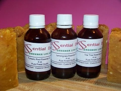 How to make a Acne Soap with Essential Depot's Essential Oil with Recipe