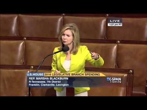 Blackburn Works to Reduce Debt, Protect Taxpayer Dollars