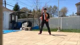 Ryuko Matoi Cosplay: Scissor Blade // Sword Spinning