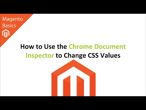 How to Use the Chrome Document Inspector to Change CSS Values