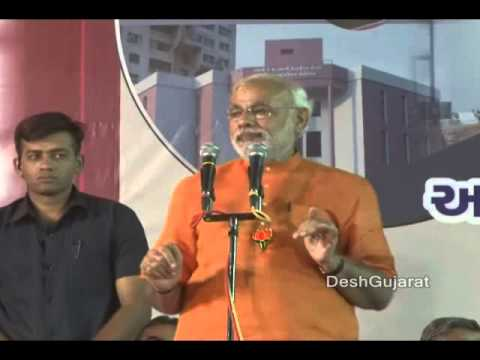 Narendra Modi's Gujarat election campaign speech at Maninagar, Ahmedabad