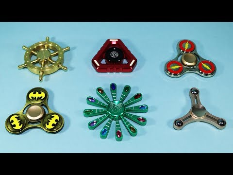 Fidget Spinners Undercover! Batman, The Flash, Golden Dharma Wheel and More