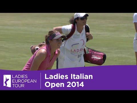 AMAZING!!! Florentyna Parker Sinks an Albatross at Ladies Italian Open Final Day