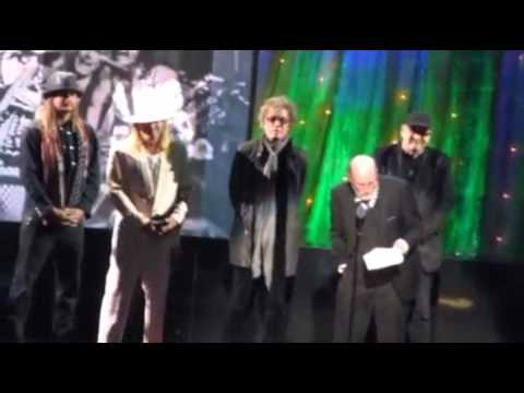 Rock & Roll Hall of Fame 2016 Inducts Cheap Trick/Complete