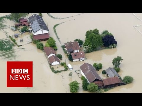 Europe floods: Death toll rises as France declares natural disaster - BBC News