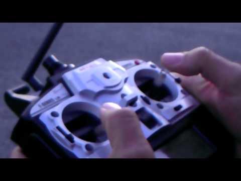 Testflug MJX F45 . F645. mit Brushless Vector Inrunner. 370er 6900KV
