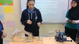 Designing working model of crane