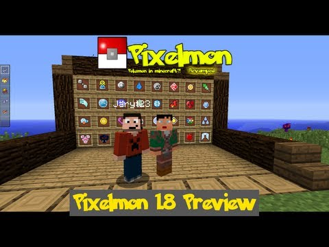[Exclusive] Pixelmon 1.8 Preview