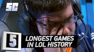 5 Longest Games in LoL History | LoL esports