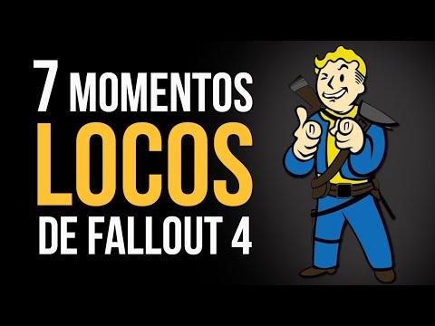 Los 7 momentos MÁS LOCOS de Fallout 4!