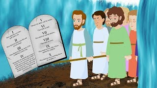Video: Moses and 10 Commandments - Kids Stories