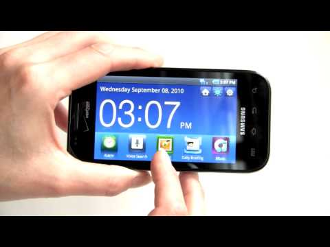 Video: Samsung Fascinate Video Review