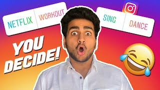 INSTAGRAM FOLLOWERS CONTROL MY LIFE FOR A DAY! | Anmol Sachar | Funny Video