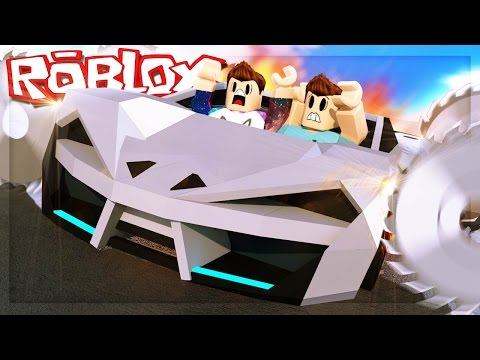 Roblox Adventures - CAN YOU SHRED A ROBLOX SPORTS CAR? (Car Crushers)