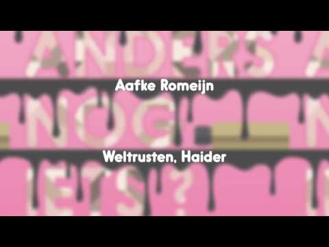 Aafke Romeijn - Weltrusten, Haider (Official Audio)