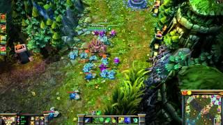 Летсплей League of Legends с НГ (соло гейм без цензуры)