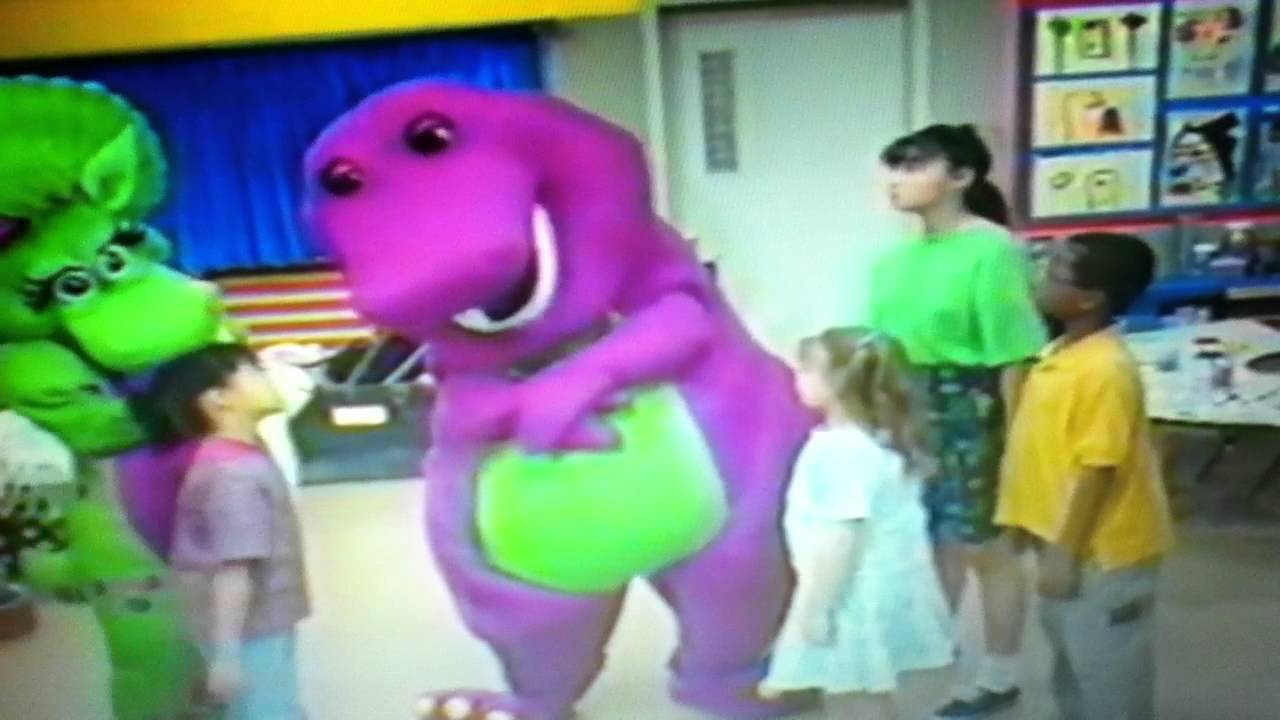 Barney and Friends Playing It Safe The Stanger Song - YouTube