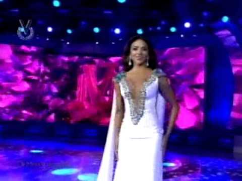 Desfile de traje de gala, Miss Venezuela 2014