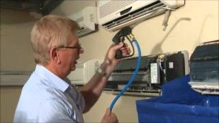 How does HydroKleen clean & service your air conditioner