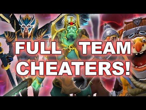 5 FRIENDS CHEATERS on Ranked EU Server!