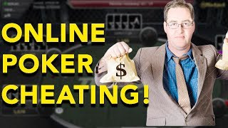 Online Poker Cheating EXPOSED On America's Card Room!!!