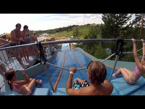 Water Park Fun - GoPro Serena Outdoor Slides - Finland