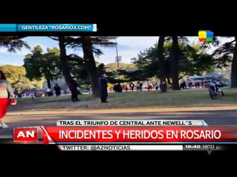 Incidentes y heridos luego del clásico rosarino