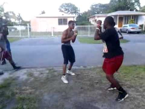 Opa Locka Hood Hood Fight in Opa Locka 2014