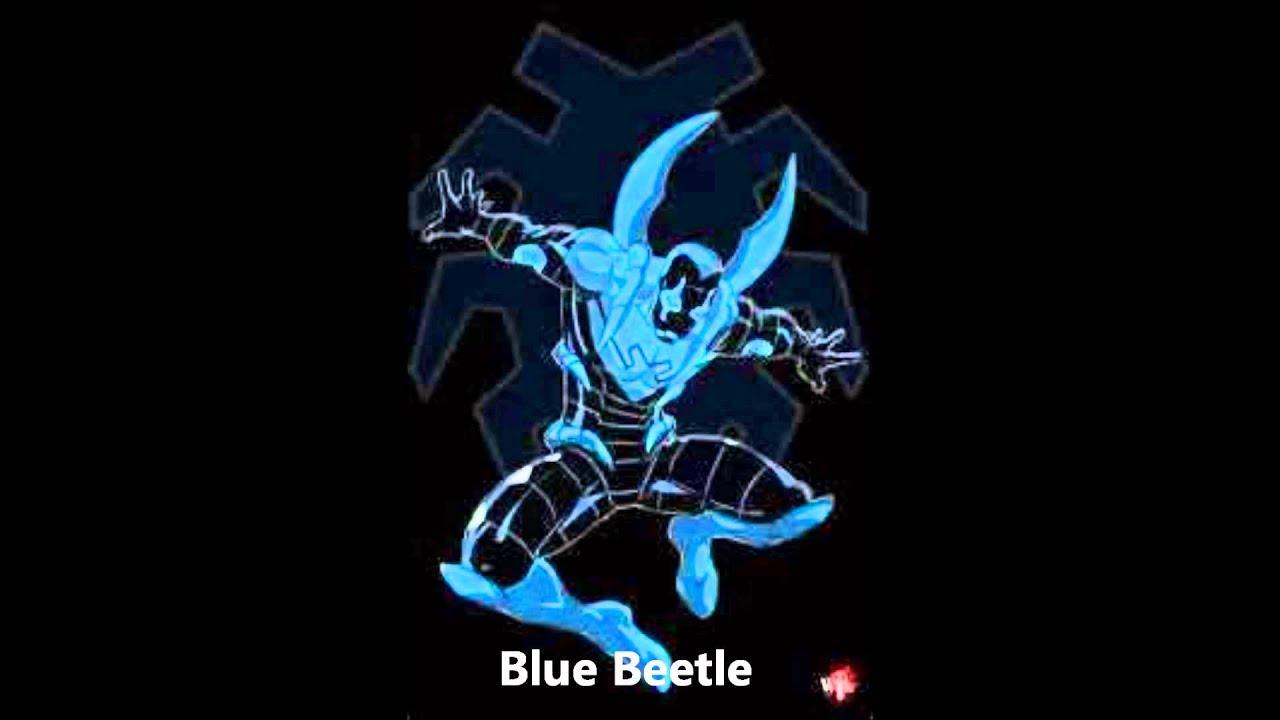 Beetle Iron Man Spider-man vs Blue Beetle