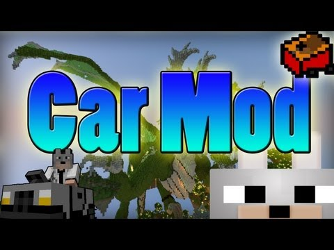 Minecraft Mods - The Car Mod 1.3.2 Review and Tutorial