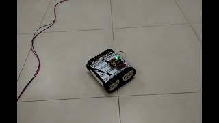 433 Mhz wireless robot tank built for all terrains