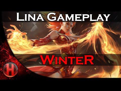 WinteR Ranked Lina Gameplay Dota 2