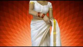 Wear South Indian Saree Perfectly With Me:Sexy Sari Draping Like Brides