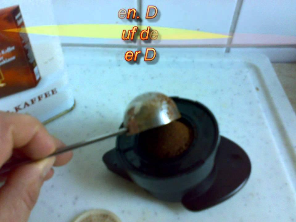 cafissimo ohne kapseln coffeeduck  youtube ~ Kaffeemaschine Ohne Kapseln