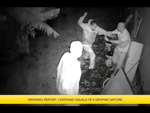 Panga robbery caught on camera