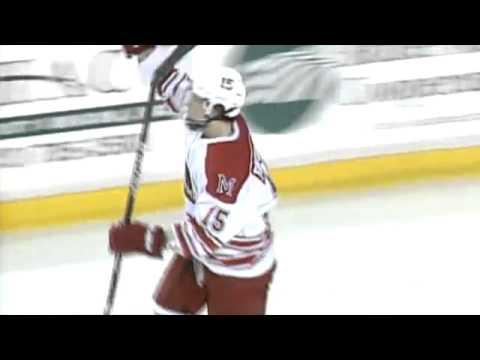 CCHA: Sweet! Redhawks' Bryon Paulazzo's Winning Shootout Goal Vs Michigan 11/12/11 (video)