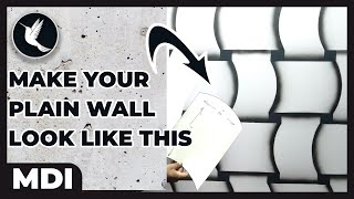 3d wall Spray  | Spray gun new design ideas | Dico wall Painting