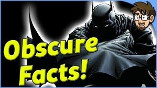 10 Obscure Batman Facts! - Comic Drake