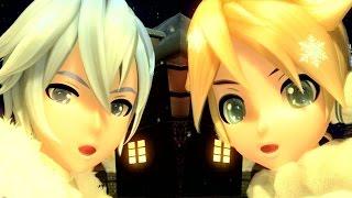 [60fps Kaito Len] Snowman スノーマン - カイト 鏡音レン Project DIVA Arcade English lyrics Romaji subtitles PDA