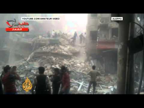 Deadly air strike damages hospital in Aleppo