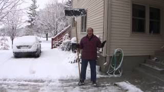 Greg Zanis Makes A 8 Foot Long Snow Shovel