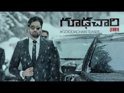 Goodachari 4K Teaser | Adivi Sesh | Sobhita Dhulipala | Prakash Raj | Sashi Kiran Tikka