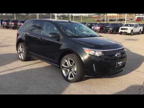 EBB38323 2014 Ford Edge Sport Black @PatriotFord
