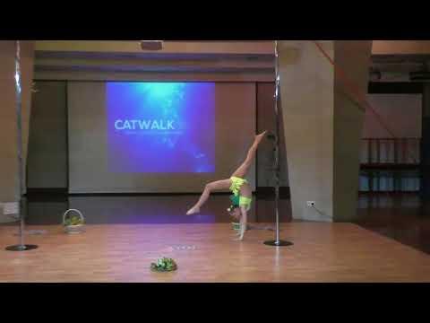 Юлия Акулова - Catwalk Dance Fest IX[pole dance, aerial] 12.05.18.